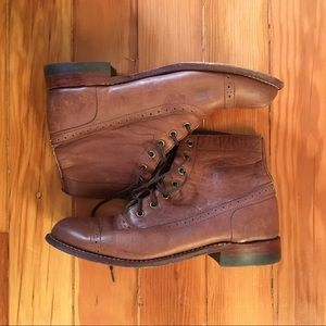 1000 Mile Oxford Style Lace Up Boot